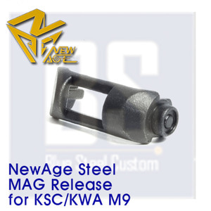 [Newage] STEEL Mag Release Button for KSC M9